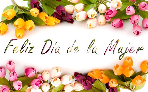 Flores por el día de la mujer