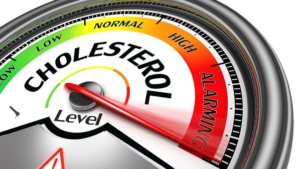 Barómetro que indica la subida de colesterol